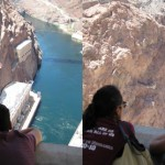 Liz and Ruben at the Hoover Dam