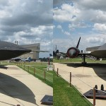 The SR-71 Blackbird at the Air Force Museum in Shreveport, LA
