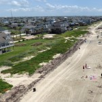 A view of Galveston from my camera-kite-rig